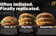 Resized Fast Food Burgers