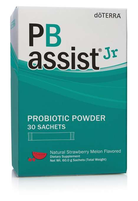 Kid-Friendly Probiotic Powders - doTERRA's 'PB Assist Jr' Supports Digestive and Immune Systems