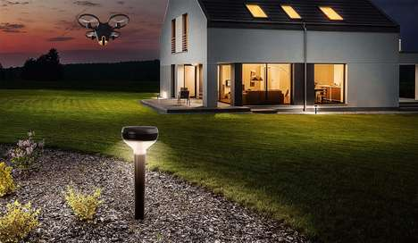 Drone Surveillance Security Systems - The Sunflower Labs Home Awareness System is Comprehensive