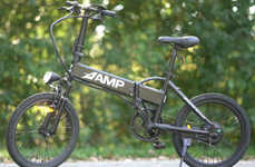 Multipurpose Electric Bikes - The 'AMP Errand' E-Bicycle is a Versatile Bike for Everyday Use