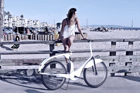 Stylish Electric Retro Bikes - The Vispa eBike Combines Functionality with Nostalgic Style