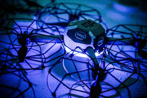 Light Show Drones - The Intel Shooting Star Drone is Designed for Swarm-Based Light Shows