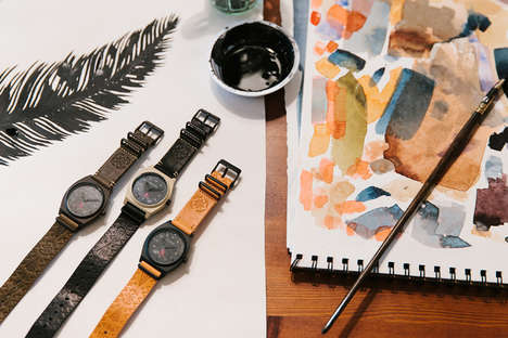 Exclusive Artist-Designed Watches - These New Nixon Time Pieces Were Made with Taka Hayashi's Help