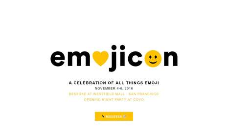 Massive Emoji Conventions - 'Emojicon' Celebrates the Popular Digital Runes