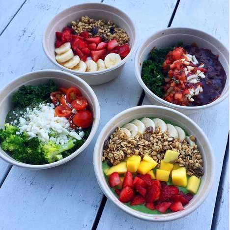 Energy-Boosting Breakfast Bowls - Freshii's New Breakfast Bowls Cater to the Early Morning Crowd