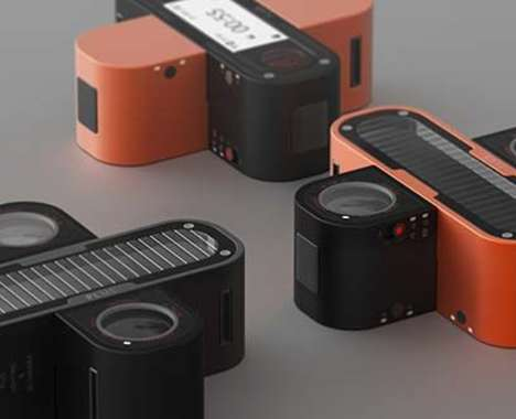 Interconnecting 3D Action Cameras