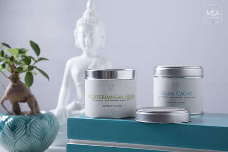 Experience-Oriented Scented Candles - Ecolove Soy Wax Candles are Themed After European Experiences