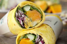 Sweet Japanese Pumpkin Wraps - Starbucks Japan is Serving Up a Wrap Made with Kabocha Squash