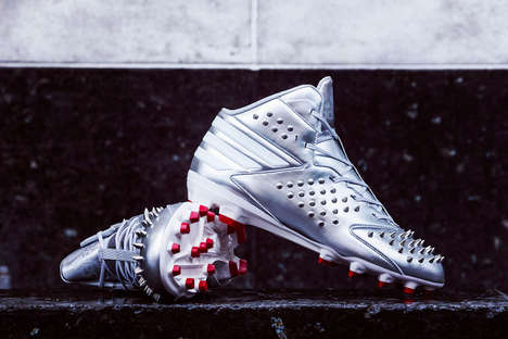 Custom Spiked Cleats - This Von Miller Adidas Release is Highly Functional and Eye-Catching