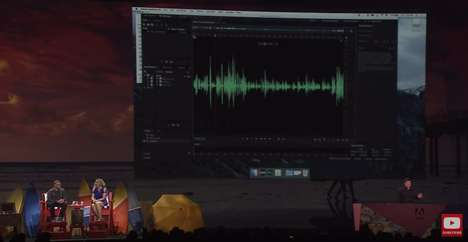 Voice-Imitating Software Programs - Adobe's 'Project VoCo' is Photoshop for Voices