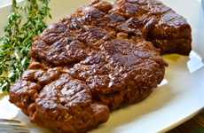 Wheat-Based Vegan Steaks - These Steaks are Offered by America's First Vegan Butcher Shop