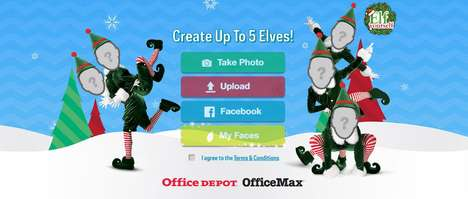 Interactive Elf Apps - Office Depot's 'Elf Yourself' Inserts Pictures of Users Onto Dancing Elves