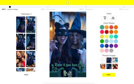 Holiday Social Upgrades - A Number of New Snapchat Geofilters and Bitmojis Were Made for Halloween