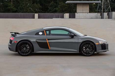 Laser-Emitting Sports Cars - This Audi Sports Car Features Laser Headlamps For Better Visibility