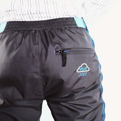 Pant-Protecting Jackets - The 'Legs Jacket' Can Easily Be Thrown On to Keep Your Pants Dry