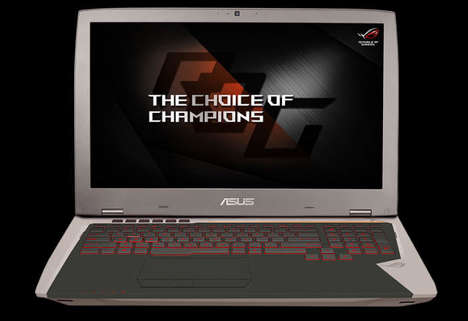 VR-Ready Gaming Laptops - The ASUS ROG G701VI Game Notebook is Prepared for Immersive Experiences
