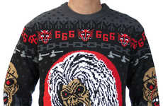Heavy Metal Christmas Sweaters