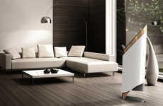Naturalistic Designer Air Conditioners - The 'Heir' Air Conditioning Unit is Aesthetically Stunning