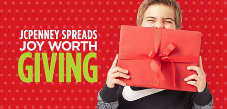 Generosity-Focused Campaigns - JCPenney's 'Joy Worth Giving' Campaign is All About Giving
