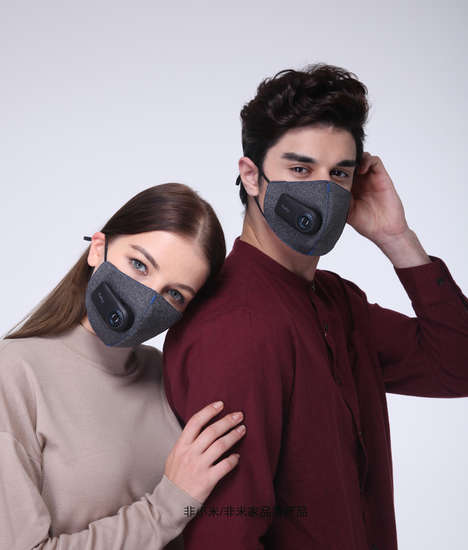Style-Concious Air Filtration Masks - Xiaomi's 'Cloth Pear Fresh' Air Mask Purifies Polluted Air