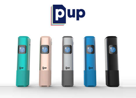 Compact Contactless Document Scanners - The 'Pup' Pocket Scanner Copies Documents without Contact
