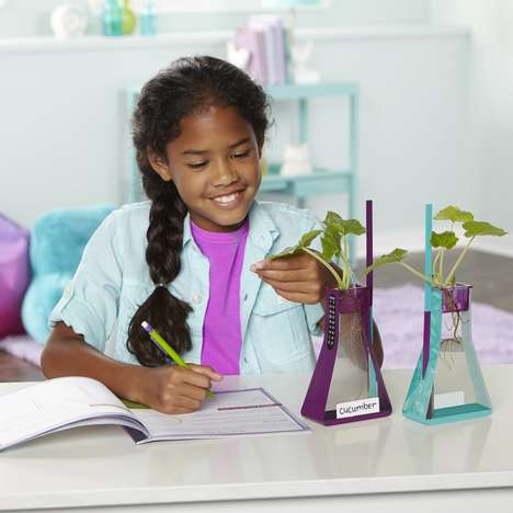 Hydroponic Botany Science Kits - The Educational Insights Nancy B's Hydroponics Kit is Educational