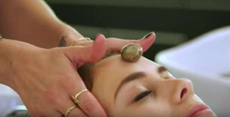 Energy-Cleansing Salon Treatments - Laura+Vanessa Offers a 'Crystal Cleanse Ritual' for Balance