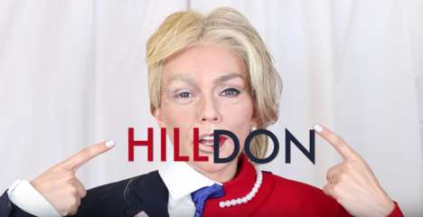 Political Makeup Transformations - Kandee Johnson Transformed Herself into Two Political Candidates