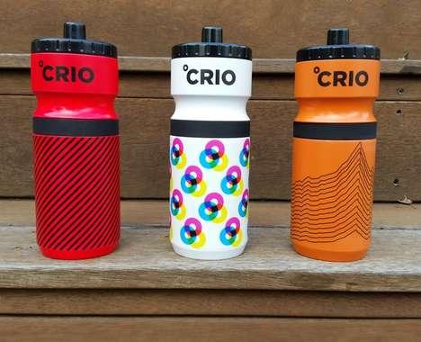 High-Tech Exercise Water Bottles
