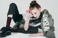 Branded Dubstep Streetwear - The New Owsla Collection Comes Imbued with Skrillex's Personal Style