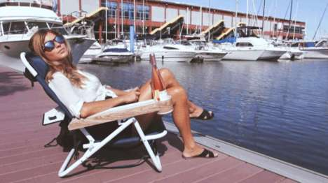Multi-Feature Lounge Chairs - These Chairs Feature Ample Technological and Storage Features