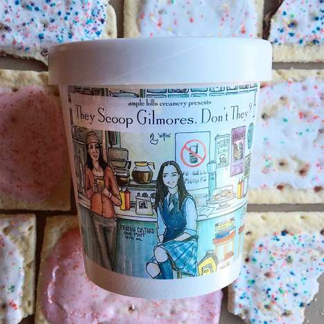 TV Series Ice Creams - Ample Hills is Celebrating the Gilmore Girls Revival with a Special Ice Cream
