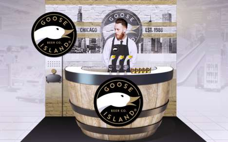 Temporary Supermarket Bars - Goose Island Beer Co. Will Set Up Pop-up Beer Tastings in Tesco Stores