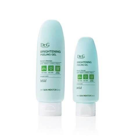 Brightening Exfoliant Gels - DR.G's 'Brightening Peeling Gel' Nourishes and Removes Dead Skin Cells