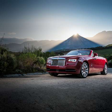 Novel Luxury Convertibles - The 2016 Rolls-Royce Dawn is a Rare New Addition to the Company's Lineup