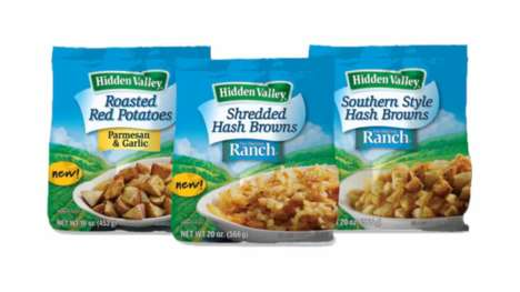 Seasoned Potato Side Dishes - The New Hidden Valley Frozen Potato Side Dishes Make Dinner Easier