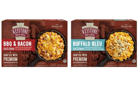 Pub-Style Macaroni Entrees - The Keystone Bar & Grill Frozen Mac & Cheese Comes in Two New Varieties