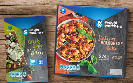 Artisanal Low-Calorie Food Branding - The Weight Watchers Weight Loss Meals Rebranding is Homestyle