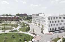 Battleship-Inspired Office Buildings - 1200 Intrepid is in Philadelphia's Historic Navy Yard