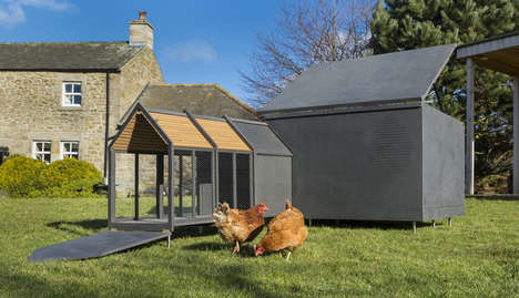 Luxury Chicken Coops - The RASKL Chicken Coop Adheres to Architectural Principles