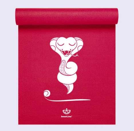 Child-Size Yoga Mats - The SweetLime Yoga Mats Encourage Kids to Practice Yoga