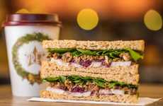 Festive Vegan Sandwiches - Pret a Manger is Launching Its First Ever Vegan Christmas Baguette