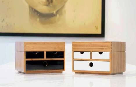 Versatile Mini Storage Boxes - The KYOTOMOJI Holds Valuables and Fits Seamlessly into Any Room