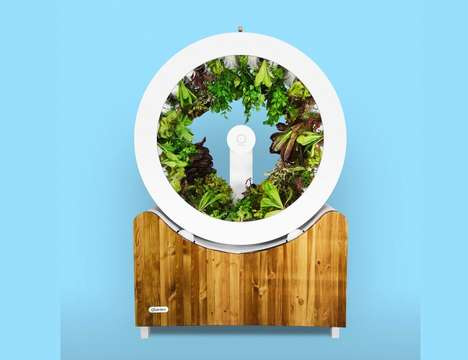 Spherical Vegetable Growers - The 'OGarden' is an Indoor Garden that Grows Fresh Veggies Year-Round