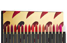 Stationary-Inspired Lipstick Sets - The New Bite Beauty Lipstick Set Draws Comes in a Stationery Tin
