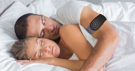 Vibrating Anti-Snore Wearables - This Device Wakes Up Those Who Wear It When They Start Snoring