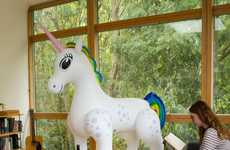 Novelty Inflatable Unicorns