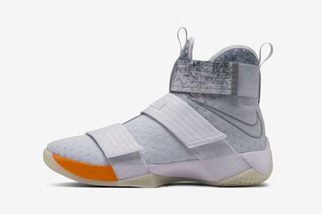 Store-Celebrating Basketball Shoes - The 'Lebron Soldier X' Was Made by Designer John Elliott