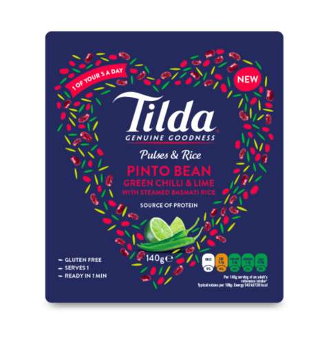 Protein-Rich Rice Blends - Tilda's 'Pulses and Rice' Collection Introduces Protein-Packed Flavors