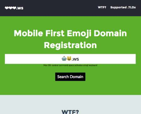 Emoji Domain Search Tools